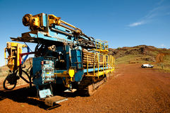 RC Drill Rig Royalty Free Stock Images