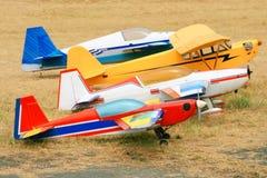 Rc Flugzeuge Stockbild