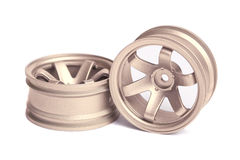 RC golden rim Stock Photos