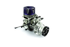 Rc helicopter engine Royalty Free Stock Image