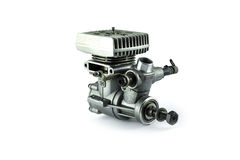 Rc helicopter engine Stock Photography