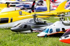 RC helicopter Stock Photo