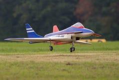 RC Jet Landing Stock Photos