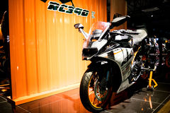 RC390. KTM RC390 Sport Bike with Background Stock Photography