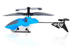 RC model helicopter electric drive. Royalty Free Stock Photography