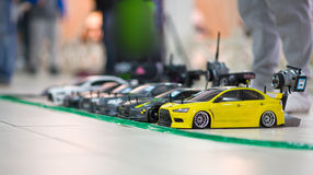 RC models. On championship with blured boken Stock Photo