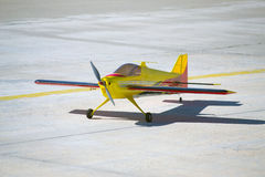 RC modelvliegtuig Stock Afbeelding