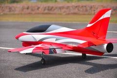 Rc nivåfluga i den sparade luften Royaltyfria Bilder