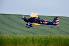 RC plane,Halenkovice meeting Stock Photography