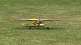 RC Plane, Remote Controlled, Toys, Planes stock video footage