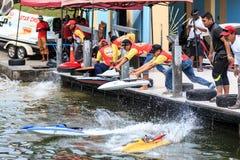 RC PowerBoat Στοκ Φωτογραφίες