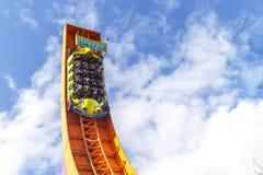 Rc racer roller coaster at disneyland Paris Stock Photo