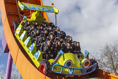 Rc racer roller coaster at disneyland Paris Royalty Free Stock Image