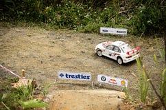 Rc rally car mitsubishi lancer EVO Stock Images