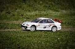 Rc rally car stock image