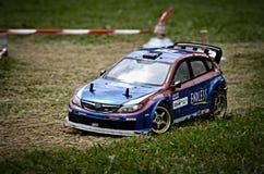 Rc rally car royalty free stock image