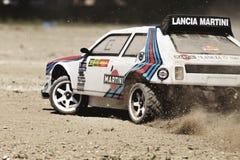 Rc rally car royalty free stock photos