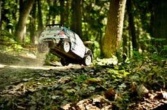 Rc samlar bilen Skoda Fabia S2000 Fotografering för Bildbyråer