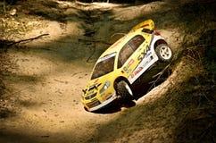 Rc samlar bilen Suzuki SX4 WRC Arkivfoto
