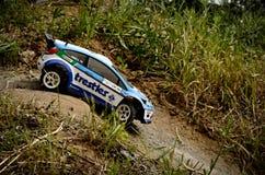 Rc-Sammlungsauto Ford Fiesta WRC lizenzfreie stockbilder