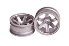 RC silver rim Stock Photo