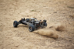 RC toy car rally Royalty Free Stock Image
