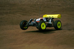 Rc toy car rally Royalty Free Stock Photography