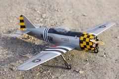 RC vliegtuig royalty-vrije stock afbeelding