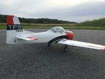 RC vliegtuig royalty-vrije stock fotografie