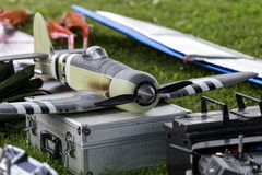 RC warplane Stock Photography