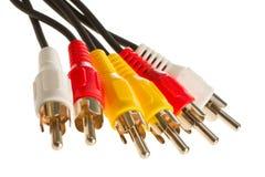 RCA кабеля Стоковые Изображения