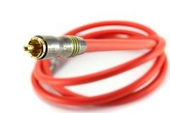 RCA кабеля Стоковые Изображения RF