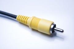RCA 2 кабелей Стоковое Изображение