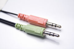 Rca cable 2 Royalty Free Stock Photos