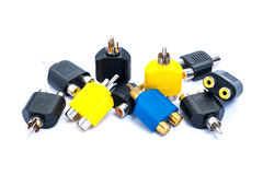 RCA Connecter Royalty Free Stock Photos