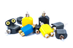RCA Connecter Royalty Free Stock Image
