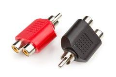 RCA jack adapter Stock Photos