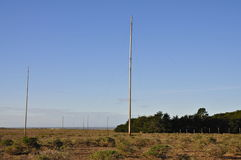 RCA Marine Coast Station Antenna Farm, Point Reyes Royalty Free Stock Photos