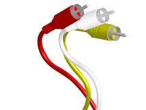 RCA plug Royalty Free Stock Image