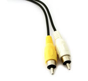 Rca plugs Royalty Free Stock Photo