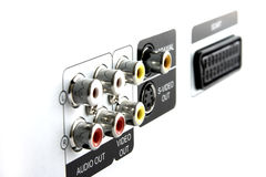 Free RCA Plugs Royalty Free Stock Photography - 314317