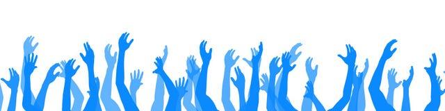 ręce do góry Obrazy Stock