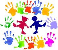 Réception d'enfants en bas âge Photos stock