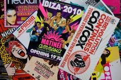 Réception d'Ibiza Image stock