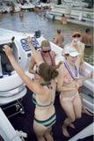 Réception de bateau Photographie stock