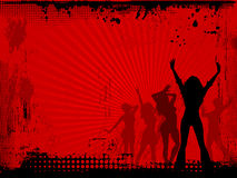 Réception grunge Photo libre de droits