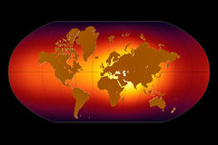 Réchauffement global Photographie stock