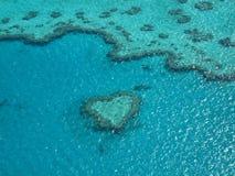 Récif de coeur Image stock
