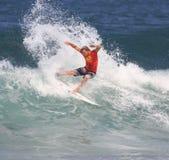 Récif pro 2008 hawaïen Photos stock