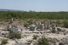 Rck piasek i formacje Fotografia Stock